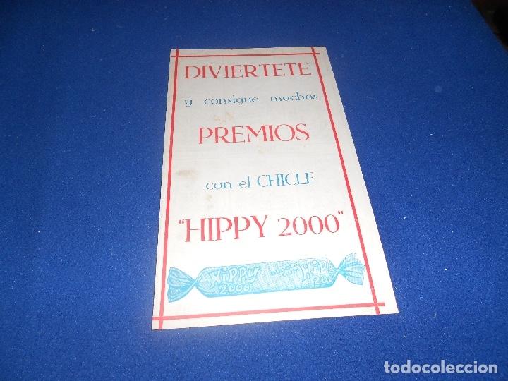 ALBUM CROMOS CHICLES HIPPY 2000 INDUSTRIAS VIDAL MOLINA (MURCIA) NUEVO DE ALMACEN (Coleccionismo - Cromos y Álbumes - Álbumes Incompletos)