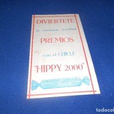 Coleccionismo Álbumes: ALBUM CROMOS CHICLES HIPPY 2000 INDUSTRIAS VIDAL MOLINA (MURCIA) NUEVO DE ALMACEN. Lote 178591668