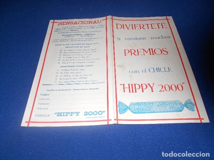 Coleccionismo Álbumes: Album Cromos Chicles HIPPY 2000 Industrias Vidal Molina (Murcia) NUEVO DE ALMACEN - Foto 3 - 178591668