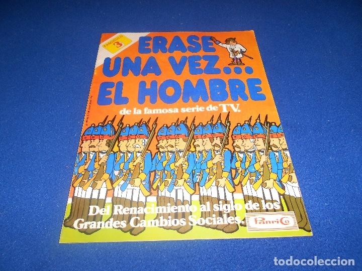 FASCICULO 3 DEL ALBUM ERASE UNA VEZ EL HOMBRE DE PANRICO. VACIO Y EN BUEN ESTADO (Coleccionismo - Cromos y Álbumes - Álbumes Incompletos)