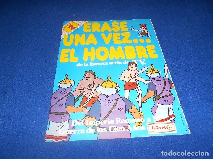 FASCICULO 2 DEL ALBUM ERASE UNA VEZ EL HOMBRE DE PANRICO. VACIO Y EN BUEN ESTADO (Coleccionismo - Cromos y Álbumes - Álbumes Incompletos)