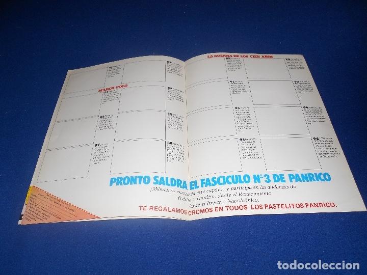 Coleccionismo Álbumes: FASCICULO 2 DEL ALBUM ERASE UNA VEZ EL HOMBRE DE PANRICO. VACIO Y EN BUEN ESTADO - Foto 3 - 178592411
