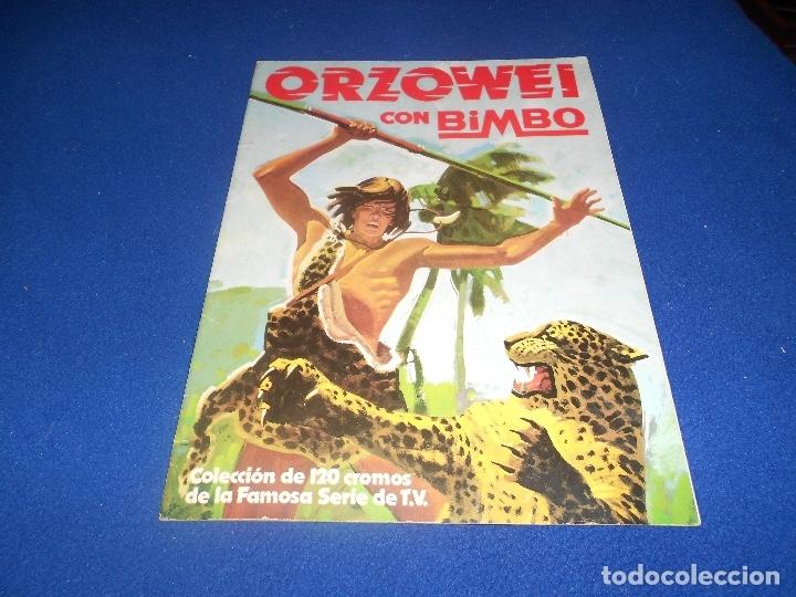ALBUM CROMOS ORZOWEI - PRODUCTOS BIMBO 1978 MUY BUEN ESTADO (Coleccionismo - Cromos y Álbumes - Álbumes Incompletos)