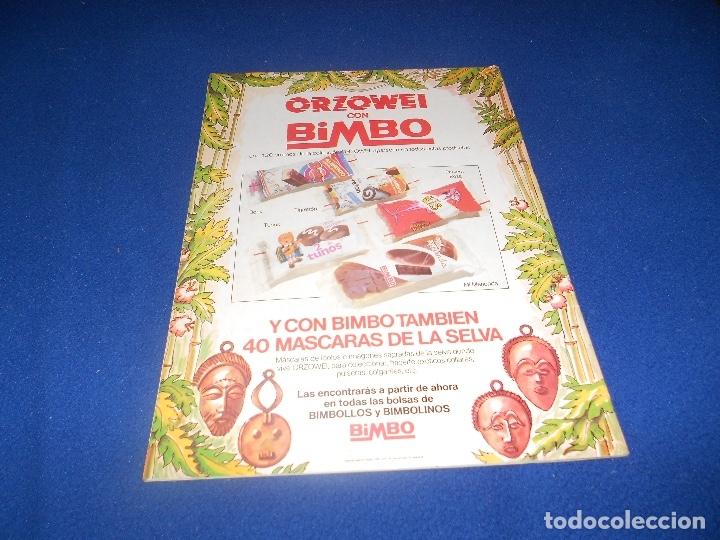 Coleccionismo Álbumes: ALBUM CROMOS Orzowei - Productos BIMBO 1978 MUY BUEN ESTADO - Foto 11 - 178592907