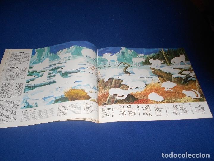 Coleccionismo Álbumes: ÁLBUM LA ZOOLOGÍA EN CASA VACIO PLANCHA - Foto 4 - 178593130