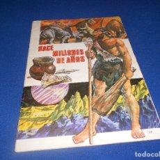 Coleccionismo Álbumes: ALBUM DE CROMOS HACE MILLONES DE AÑOS NO COMPLETO 1971. Lote 178593867