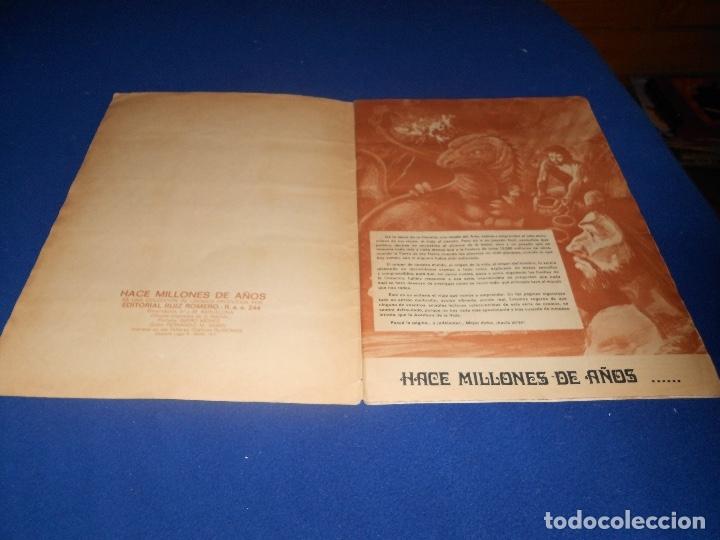 Coleccionismo Álbumes: ALBUM DE CROMOS HACE MILLONES DE AÑOS NO COMPLETO 1971 - Foto 2 - 178593867