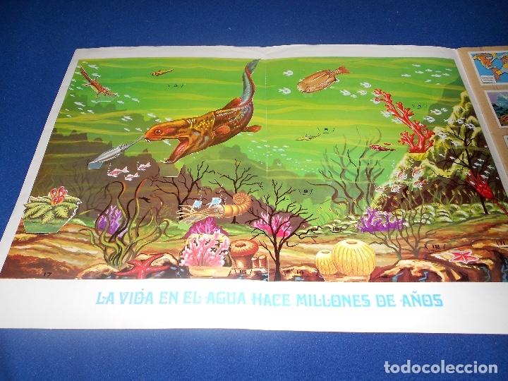 Coleccionismo Álbumes: ALBUM DE CROMOS HACE MILLONES DE AÑOS NO COMPLETO 1971 - Foto 5 - 178593867