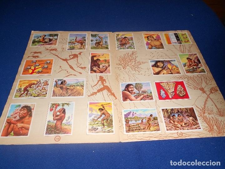 Coleccionismo Álbumes: ALBUM DE CROMOS HACE MILLONES DE AÑOS NO COMPLETO 1971 - Foto 12 - 178593867