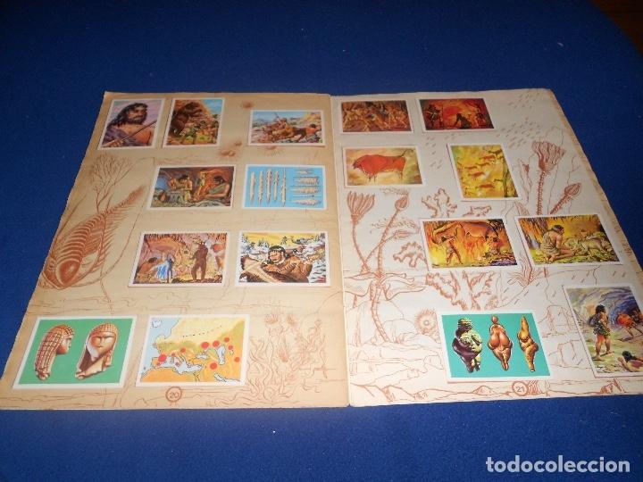 Coleccionismo Álbumes: ALBUM DE CROMOS HACE MILLONES DE AÑOS NO COMPLETO 1971 - Foto 13 - 178593867