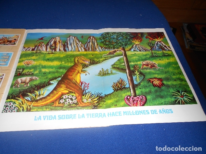 Coleccionismo Álbumes: ALBUM DE CROMOS HACE MILLONES DE AÑOS NO COMPLETO 1971 - Foto 14 - 178593867