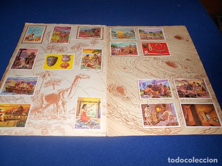 Coleccionismo Álbumes: ALBUM DE CROMOS HACE MILLONES DE AÑOS NO COMPLETO 1971 - Foto 15 - 178593867
