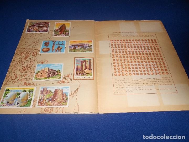 Coleccionismo Álbumes: ALBUM DE CROMOS HACE MILLONES DE AÑOS NO COMPLETO 1971 - Foto 16 - 178593867