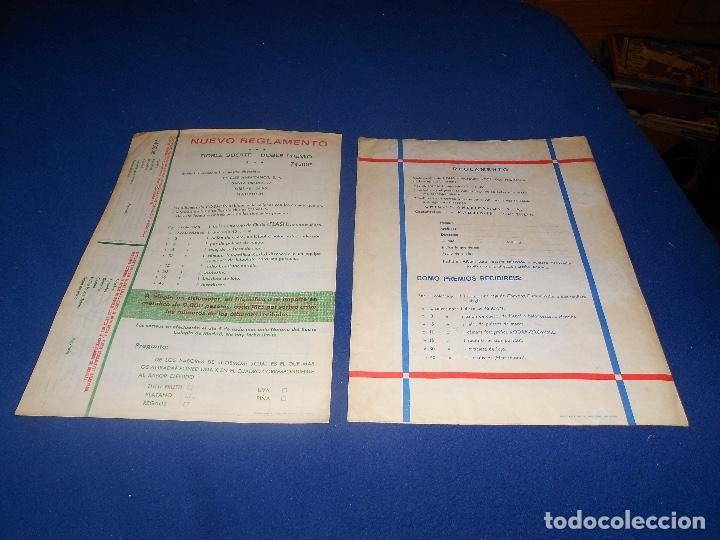Coleccionismo Álbumes: 2 ÁLBUM VACÍO COSMOS GOMA HINCHABLE CHICLE COLECCIÓN DE LOS GRANDES PREMIOS 1969 MUY BUEN ESTADO - Foto 4 - 178594428
