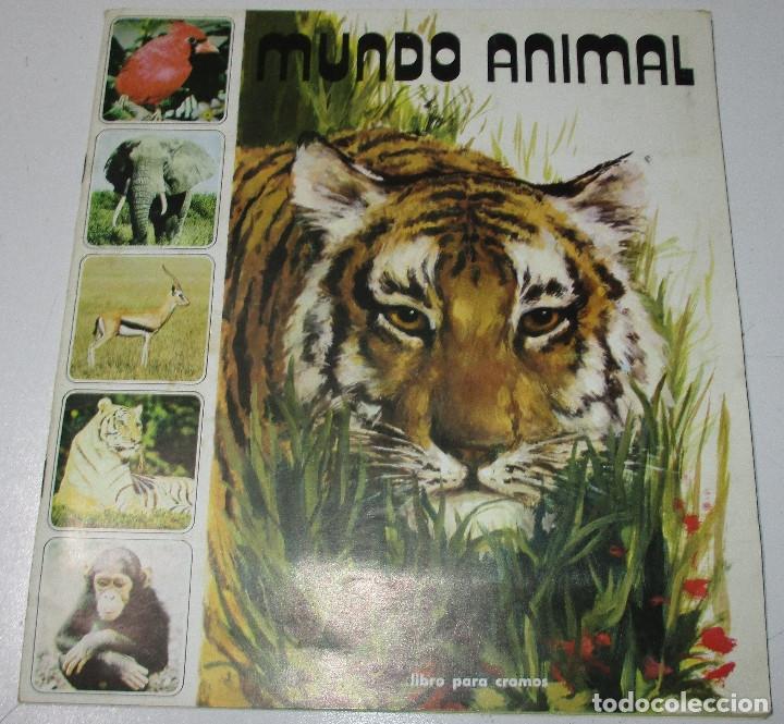 ALBUM CROMOS MUNDO ANIMAL 1984, FHER , CON 58 CROMOS DE 121 (Coleccionismo - Cromos y Álbumes - Álbumes Incompletos)