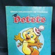 Coleccionismo Álbumes: GRAN COLECCIÓN DE CROMOS DE PETETE. Lote 178645391