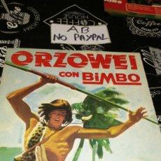 Coleccionismo Álbumes: ÁLBUM VACÍO ORZOWEI CON BIMBO LOMOS ALGUNA ARRUGA INTERIOR OK. Lote 178738026
