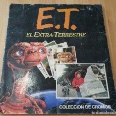 Coleccionismo Álbumes: ALBUM DE CROMOS ET EL EXTRA-TERRESTRE , DE ESTE CASI COMPLETO. Lote 178769187