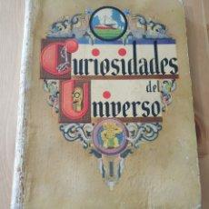 Coleccionismo Álbumes: ALBUM DE CROMOS MUY ANTIGUO CURIOSIDADES DEL UNIVERSO 1933. Lote 178771536