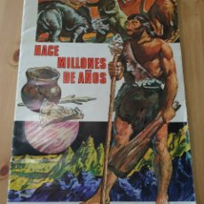 Coleccionismo Álbumes: ALBUM DE CROMOS HACE MILLONES DE AÑOS. Lote 178772653