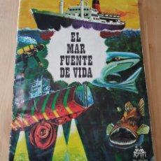 Coleccionismo Álbumes: ALBUM DE CROMOS EL MAR FUENTE DE VIDA. Lote 178773472