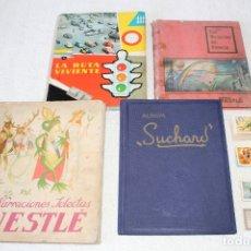 Collectionnisme Albums: ALBUMES: NESTLE, SUCHARD + LOTE DE CROMOS NESTLE. Lote 178778750