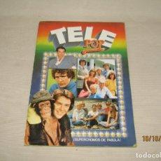 Coleccionismo Álbumes: ANTIGUO ÁLBUM TELE POP DE EDICIONES ESTE DEL AÑO 1981. Lote 178901195