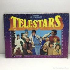 Coleccionismo Álbumes: ALBUM INCOMPLETO TELESTARS - ALBUM DE ESTRELLAS - COLECCIÓN DE 209 CROMOS . Lote 179183733