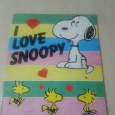 Coleccionismo Álbumes: ALBUM CROMOS I LOVE SNOOPY INCOMPLETO CON 182 DE 288 - PANINI -. Lote 179374720
