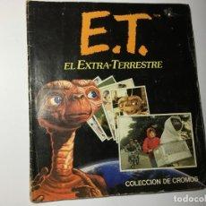 Coleccionismo Álbumes: ALBUM ET EL EXTRATERRESTRE - FALTAN 2 CROMOS -. Lote 179546960