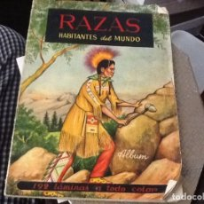 Coleccionismo Álbumes: RAZAS HABITANTES DEL MUNDO FALTAN 29. Lote 180044050