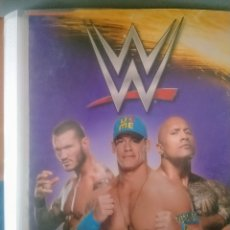 Coleccionismo Álbumes: WWE ACTION CARDS. Lote 180100716