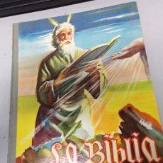 Coleccionismo Álbumes: ÁLBUM LA BIBLIA -ANTIGUO TESTAMENTO-1962-RODRIGUEZ-CHOCOLATE VIRGINIAS-REUS INCOMPLETO. Lote 180131286