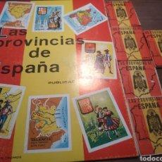Coleccionismo Álbumes: LAS PROVINCIAS DE ESPAÑA .. Lote 180155535
