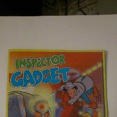 Coleccionismo Álbumes: ÁLBUM INSPECTOR GADGET ( INCOMPLETO). Lote 180198601