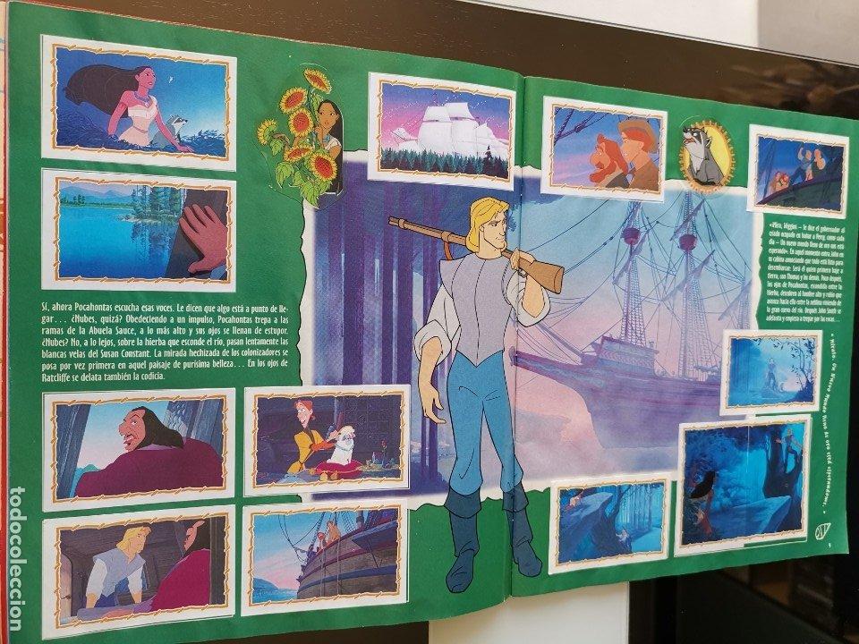 Coleccionismo Álbumes: ÁLBUM CROMOS DISNEY POCAHONTAS ED. PANINI - Foto 6 - 180231178