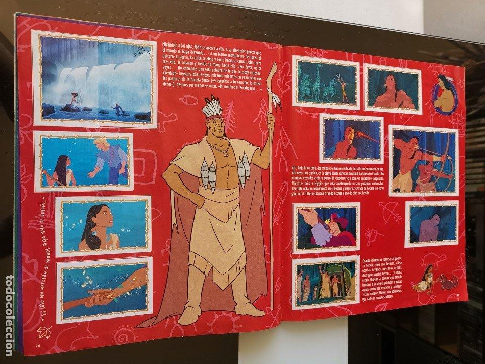 Coleccionismo Álbumes: ÁLBUM CROMOS DISNEY POCAHONTAS ED. PANINI - Foto 14 - 180231178