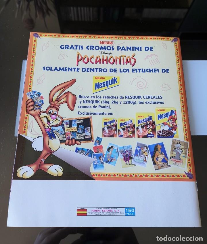Coleccionismo Álbumes: ÁLBUM CROMOS DISNEY POCAHONTAS ED. PANINI - Foto 21 - 180231178