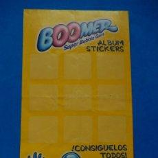 Coleccionismo Álbumes: ÁLBUM DE CROMOS STICKERS. BOOMER. SUPER BUBBLE GUM. SIMPSON. INCOMPLETO.. Lote 181410033