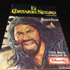 Coleccionismo Álbumes: EL CORSARIO NEGRO DE PANRICO ( 32 CROMOS ). Lote 181437940