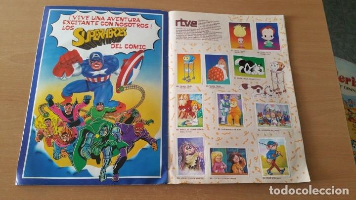 Coleccionismo Álbumes: Álbum SUPER FESTIVAL DEL DIBUJO ANIMADO + SUPERHEROES Faltan 7 cromos - Foto 7 - 181491738