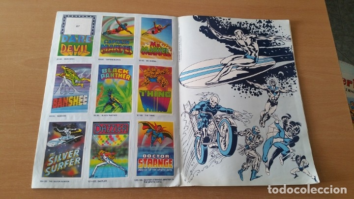 Coleccionismo Álbumes: Álbum SUPER FESTIVAL DEL DIBUJO ANIMADO + SUPERHEROES Faltan 7 cromos - Foto 8 - 181491738