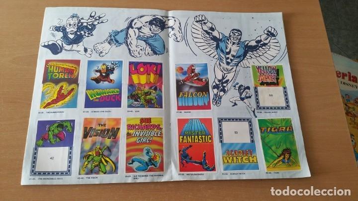 Coleccionismo Álbumes: Álbum SUPER FESTIVAL DEL DIBUJO ANIMADO + SUPERHEROES Faltan 7 cromos - Foto 10 - 181491738