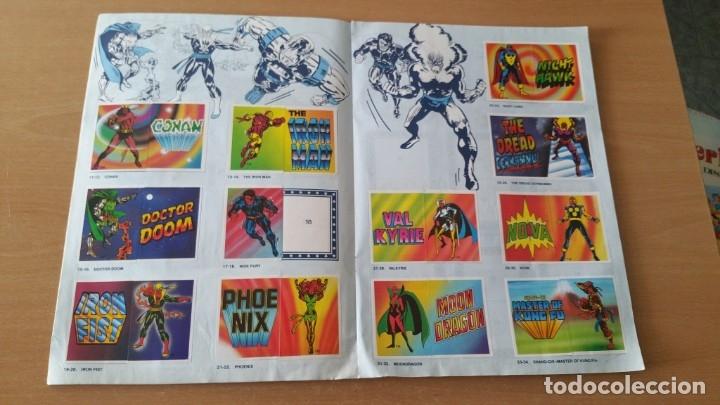 Coleccionismo Álbumes: Álbum SUPER FESTIVAL DEL DIBUJO ANIMADO + SUPERHEROES Faltan 7 cromos - Foto 11 - 181491738