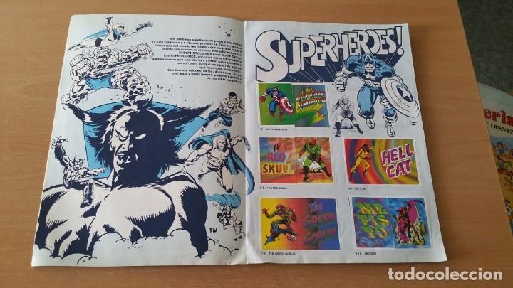 Coleccionismo Álbumes: Álbum SUPER FESTIVAL DEL DIBUJO ANIMADO + SUPERHEROES Faltan 7 cromos - Foto 12 - 181491738