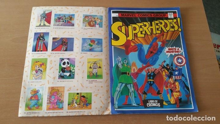 Coleccionismo Álbumes: Álbum SUPER FESTIVAL DEL DIBUJO ANIMADO + SUPERHEROES Faltan 7 cromos - Foto 13 - 181491738