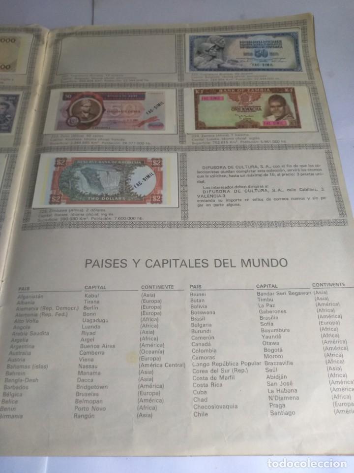 Coleccionismo Álbumes: Album incompleto, Billetes del mundo con 174 cromos - Foto 7 - 182481416