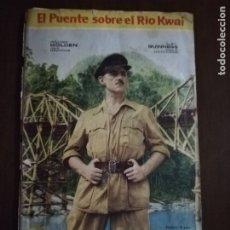 Coleccionismo Álbumes: ALBUM INCOMPLETO. EL PUENTE SOBRE EL RIO KWAI. ED. FHER. FALTAN 81 CROMOS. VER FOTOS. . Lote 182726353