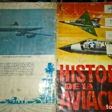 Coleccionismo Álbumes: ALBUM: ÁLBUM CROMOS TORAY. HISTORIA DE LA AVIACIÓN. 1963. Lote 182855066