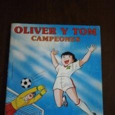 Coleccionismo Álbumes: ALBUM INCOMPLETO. OLIVER Y TOM. CAMPEONES. PANINI. FALTA SOLO 1 CROMO. BUEN ESTADO. VER FOTOS.. Lote 182909415